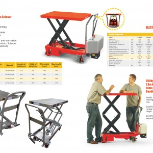 Hi-Rise Electric Lift Table
