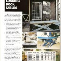 Loading Dock Table