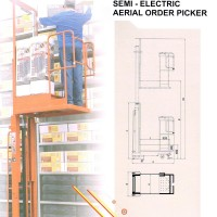 Order Picker Truck(OPT) 半電動執貨車